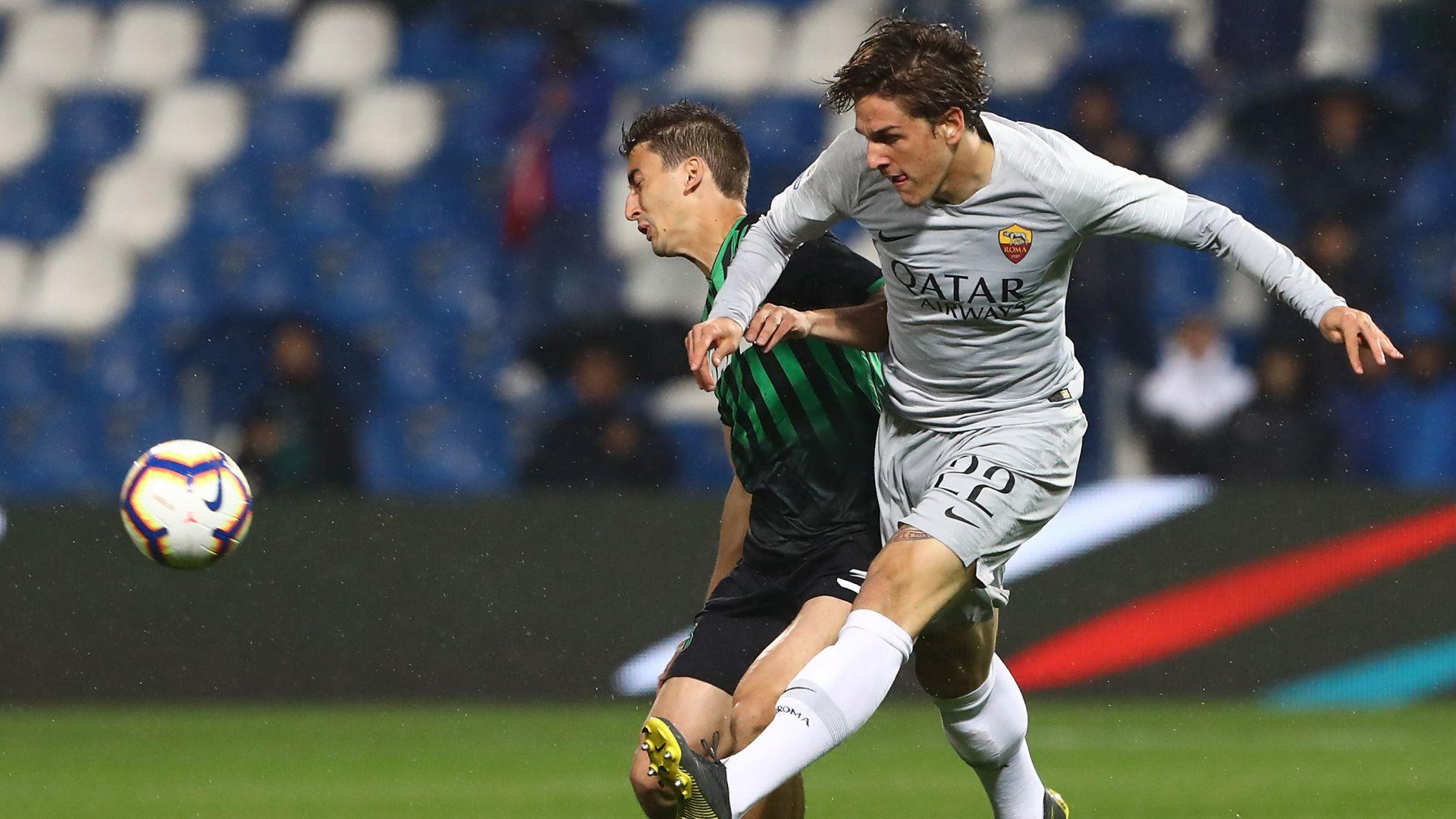 Nicolo Zaniolo Sassuolo Roma Serie A