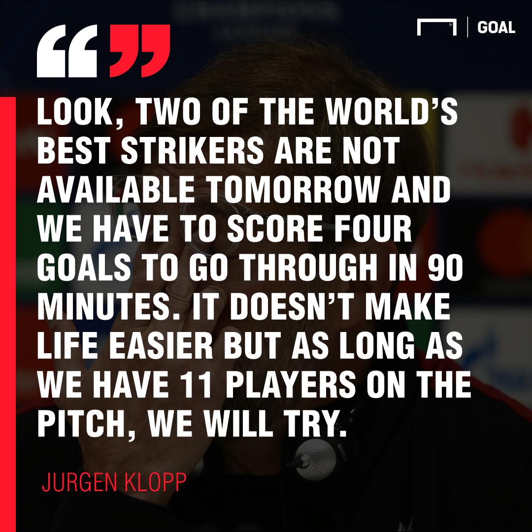 Jurgen Klopp quote 2019