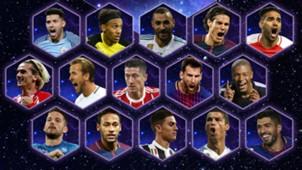UEFA nominados 2017