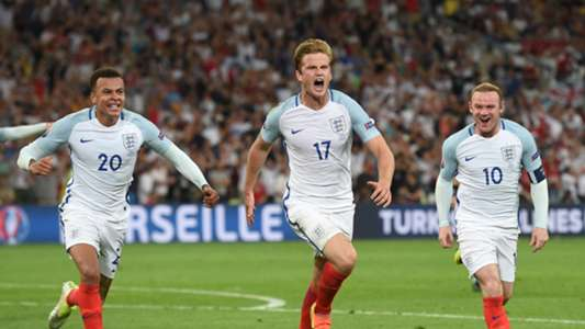 Dele Alli Eric Dier Wayne Rooney England Russia Euro 2016
