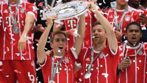 Philipp Lahm Xabi Alonso FC Bayern 20052017