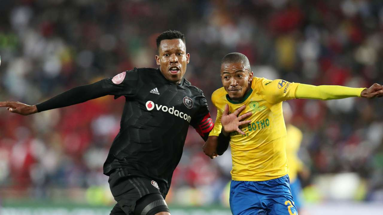 Happy Jele, Orlando Pirates & Thapelo Morena, Sundowns, April 2019