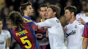 Barcelona Real Madrid Puyol Ramos 29112010