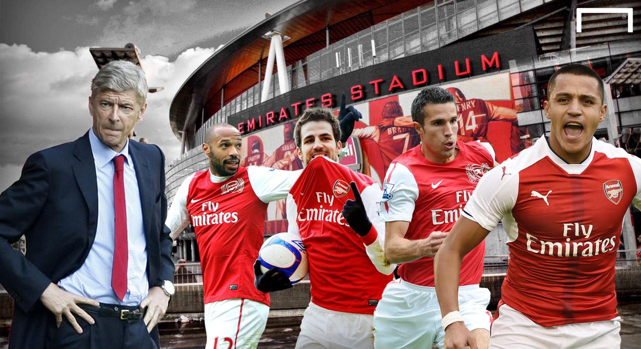 Footballer stars left Arsenal