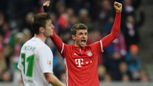 Thomas Müller Bayern Wolfsburg