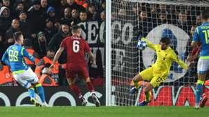 Alisson Liverpool Napoli