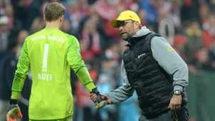 Jurgen Klopp Manuel Neuer Borussia Dortmund Bayern Munich 2015