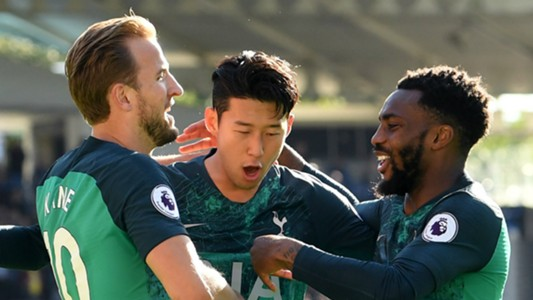 Harry Kane Heung-Min Son Danny Rose Tottenham 2018-19