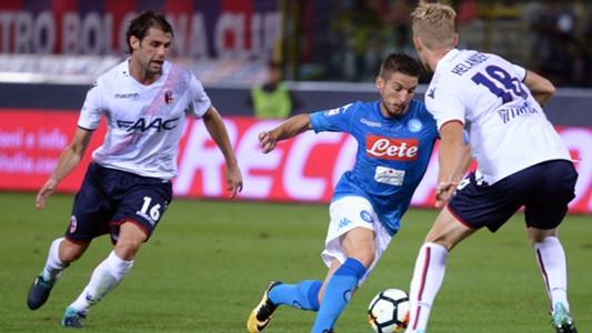 Dries Mertens Bologna Napoli Serie A