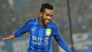 Alex Teixeira Jiangsu Suning Chinese Super League 05032016