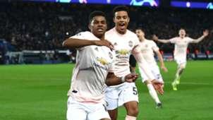 Marcus Rashford Manchester United PSG Champions League 2019