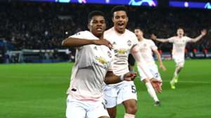 Marcus Rashford Manchester United PSG Champions League 2019