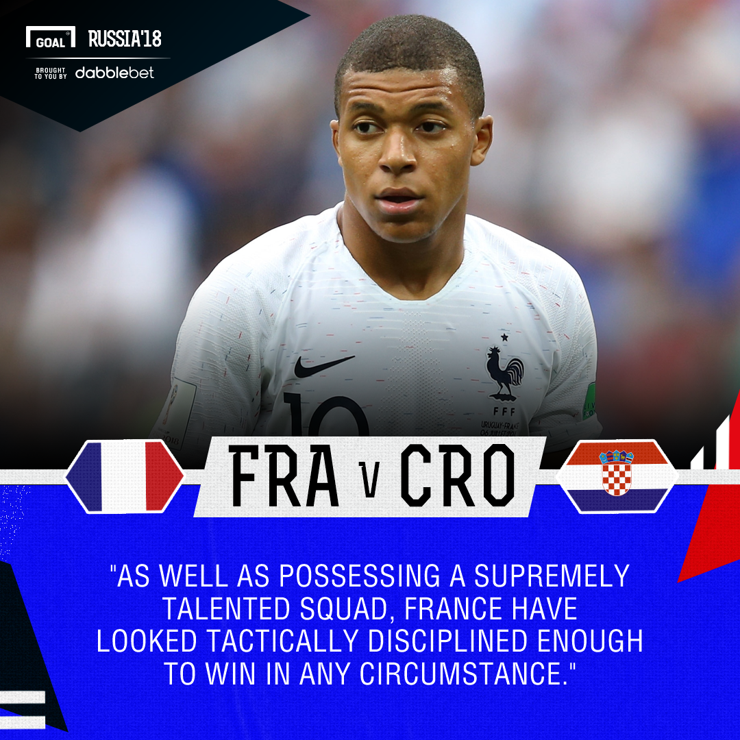 France Croatia graphic