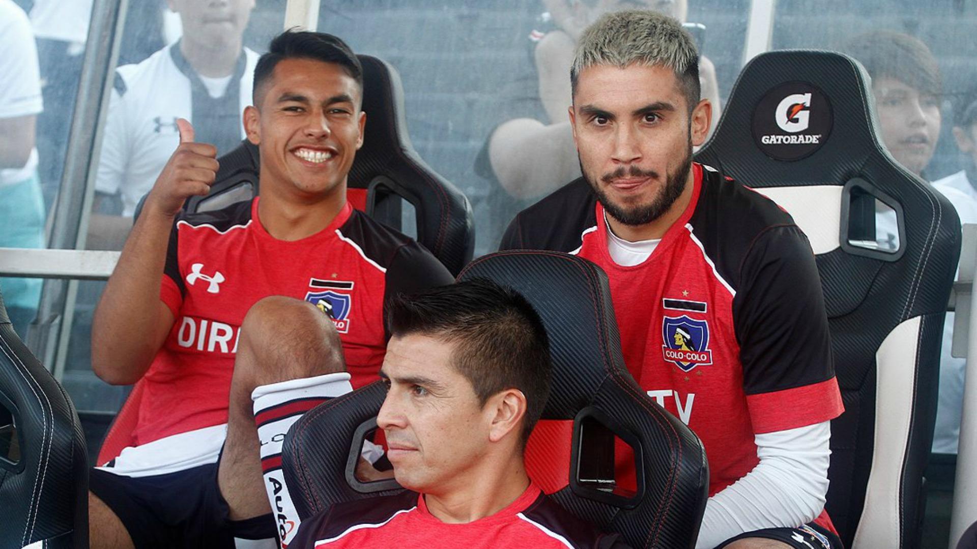 Pedro Morales Iván Morales Gonzalo Fierro Colo Colo Palestino 300417