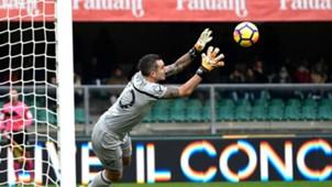 Stefano Sorrentino, Chievo, Serie A, 10122017