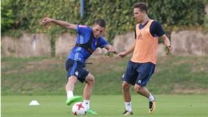 ARijan Ademi Training Dinamo 08082017