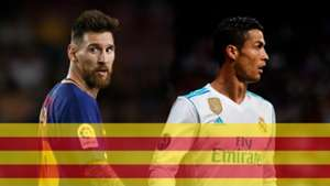 Messi Ronaldo Catalan GFX