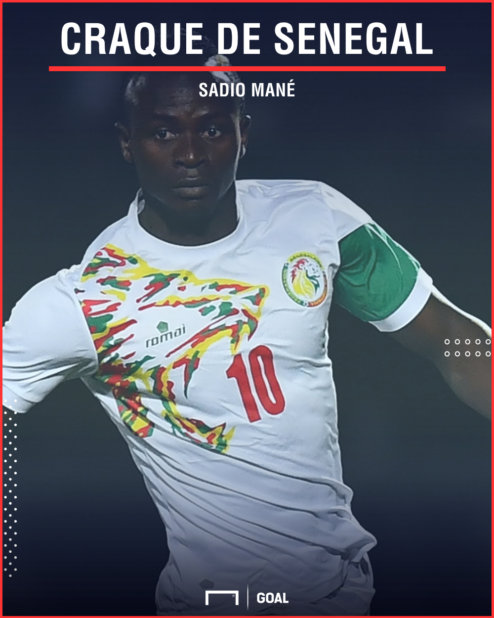 Sadio Mané - Senegal PS - 7/05/2018