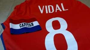 Arturo Vidal Chile captain 020617