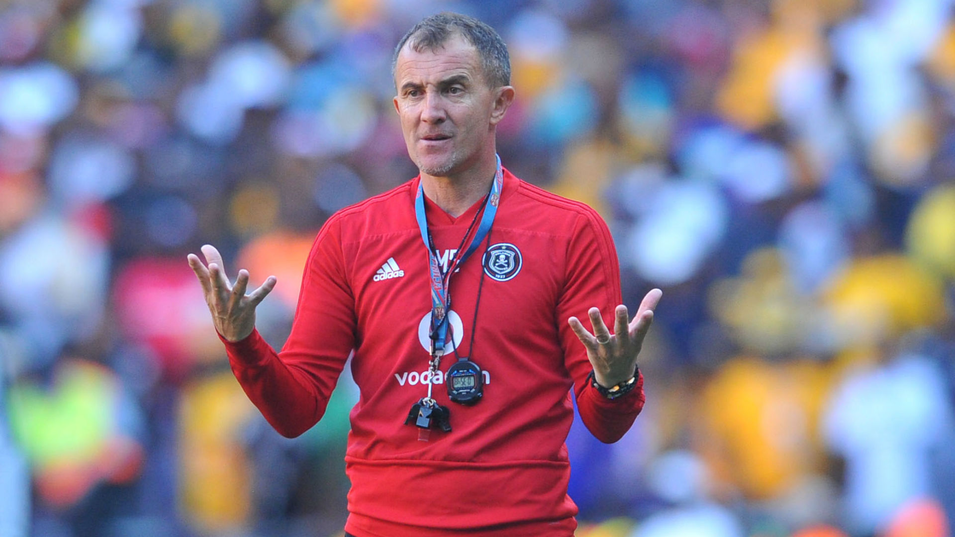 Milutin Sredojevic, Orlando Pirates, November 2018