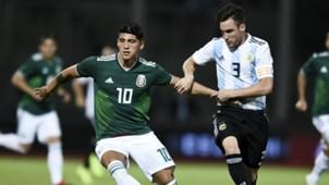 Tagliafico Pulido Argentina Mexico Amistoso Internacional Fecha FIFA 16112018