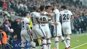 Besiktas goal celebration vs Genclerbirligi 01302018
