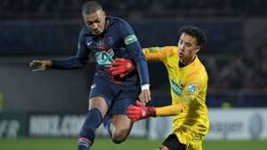 Kylian Mbappe Pointivy PSG Coupe de France 06012019