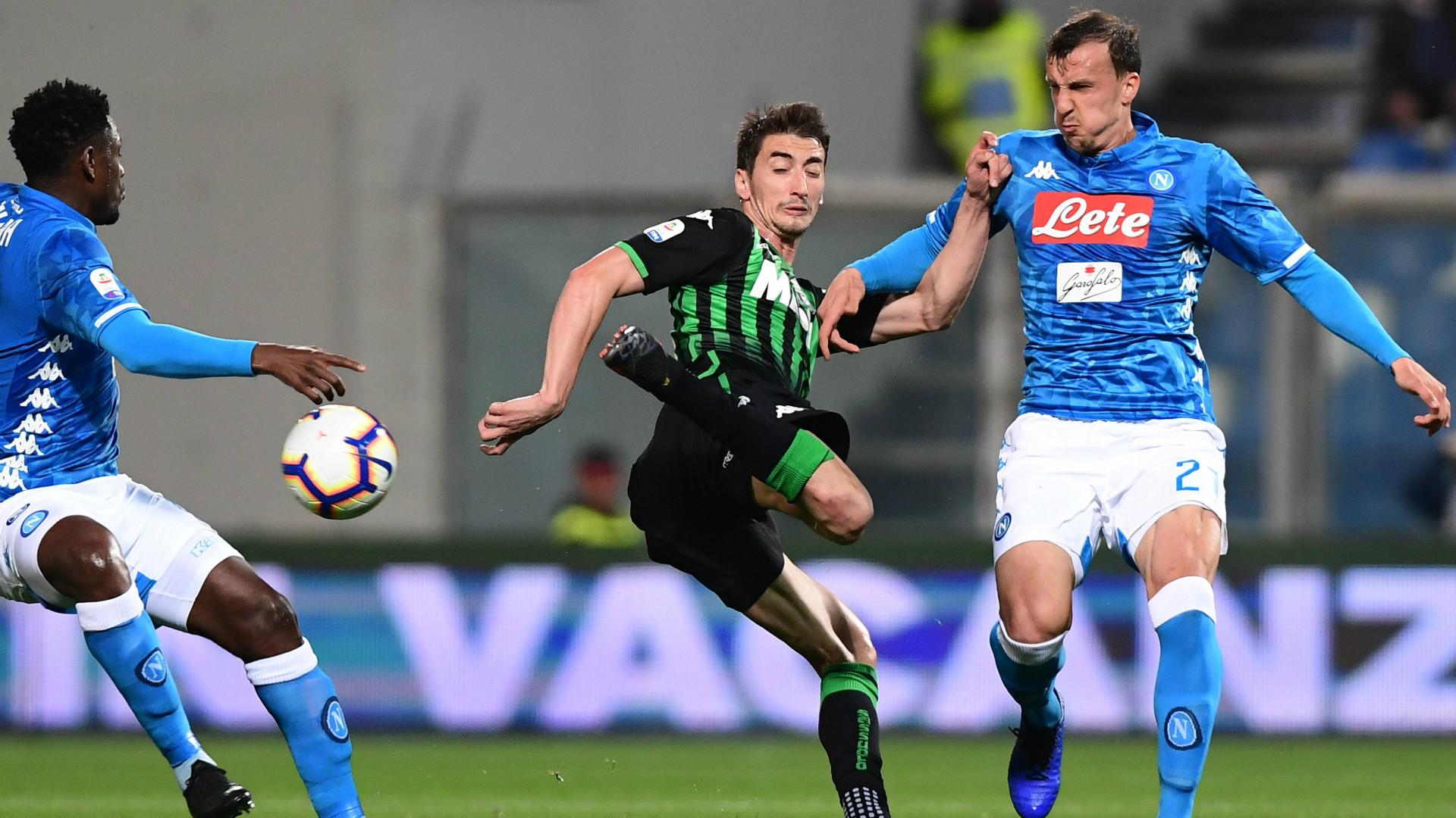 Filip Duricic Sassuolo Napoli Serie A