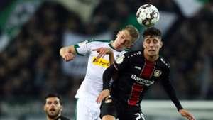 Borussia Mönchengladbach Bayer Leverkusen Havertz Ginter 31102018