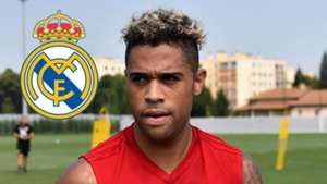 Mariano Diaz, Real Madrid logo