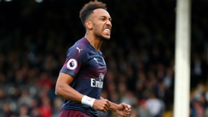 Aubameyang Arsenal Fulham