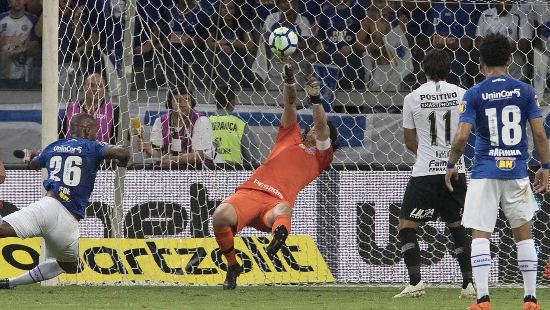 Cássio Cruzeiro Corinthians Copa do Brasil final 10102018