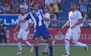 Manu Garcia Lucas Vazquez Alaves Real Madrid