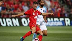 James Holland Adelaide United v Melbourne City A-League 12012017