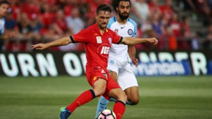 James Holland Adelaide United v Melbourne City A-League 12012017