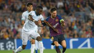 Nicolas Isimat-Mirin Lionel Messi PSV Barcelona