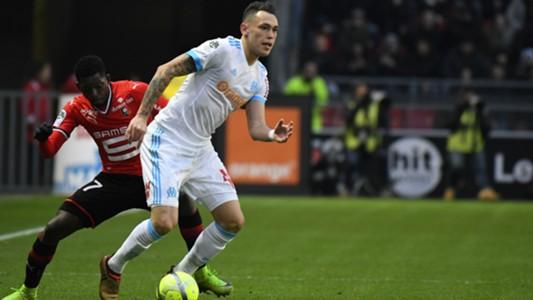 Lucas Ocampos Rennes Marseille