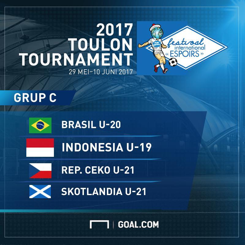 GFXID Tournament Toulon 2017 Grup C Indonesia U-19
