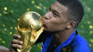 Kylian Mbappe France World Cup 2018