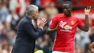 Eric Bailly Jose Mourinho Manchester United Premier League
