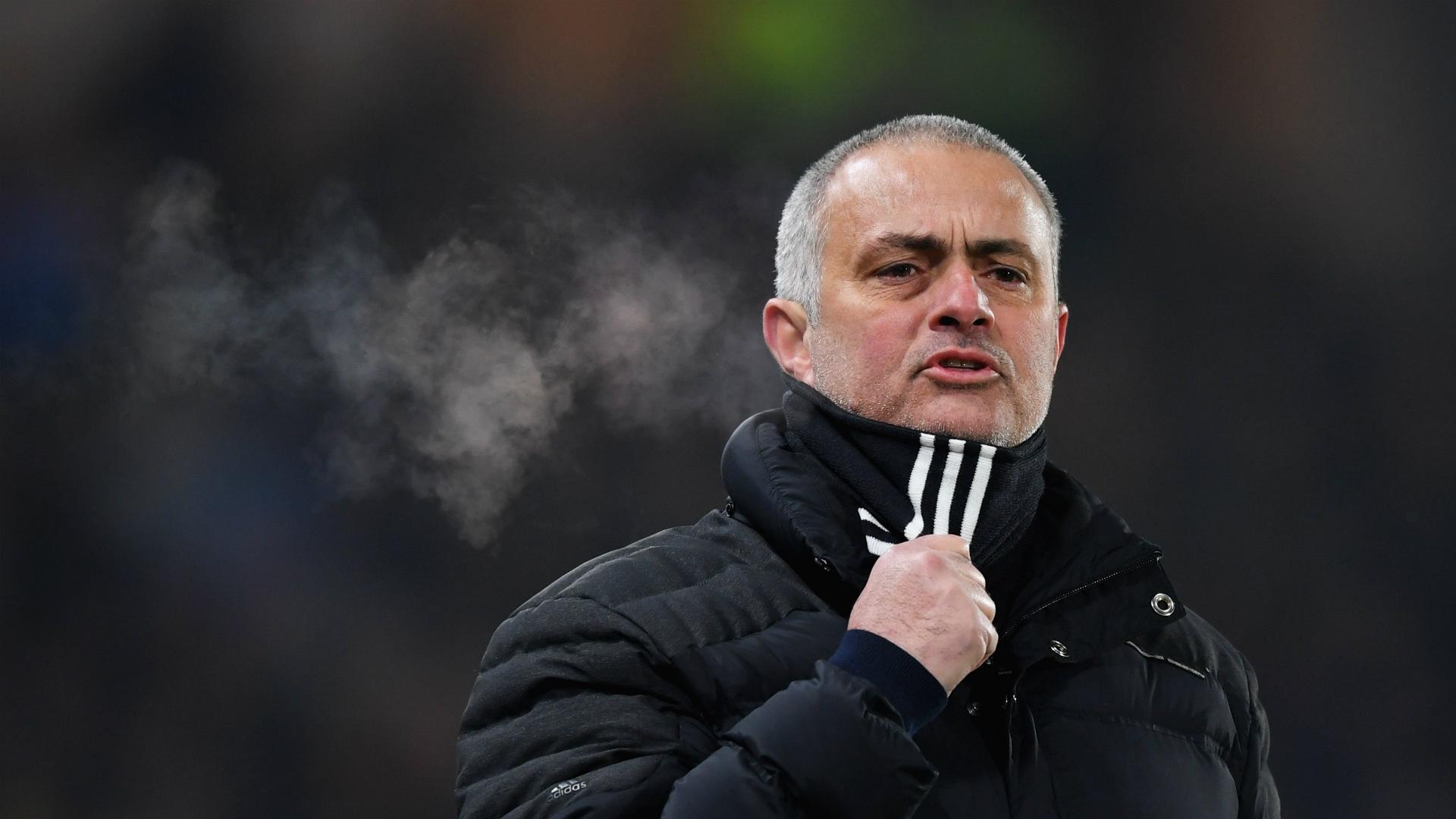HD Jose Mourinho Manchester United 26012017