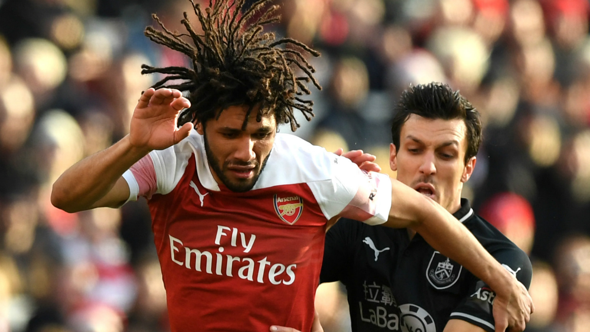 Mohamed Elneny Arsenal 2018-19