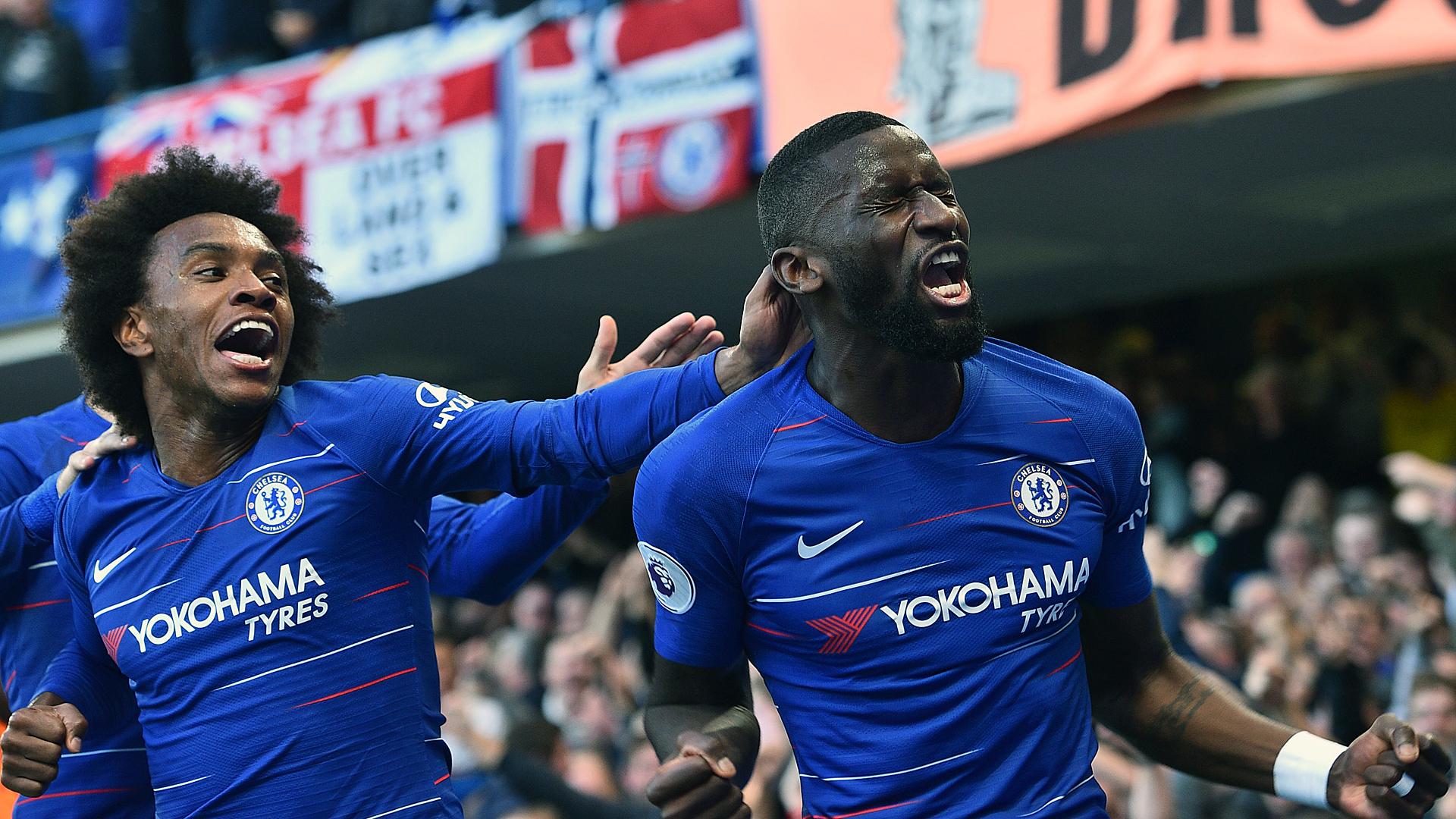 Antonio Rüdiger FC Chelsea ManUnited