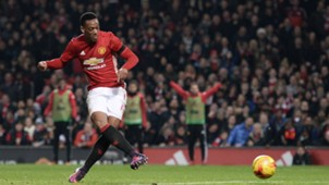 Anthony Martial Manchester United Premier League