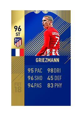 FIFA 18 La Liga Team of the Season Griezmann