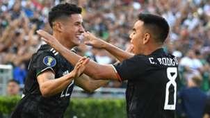 Uriel Antuna Carlos Rodriguez Mexico Cuba Gold Cup 2019