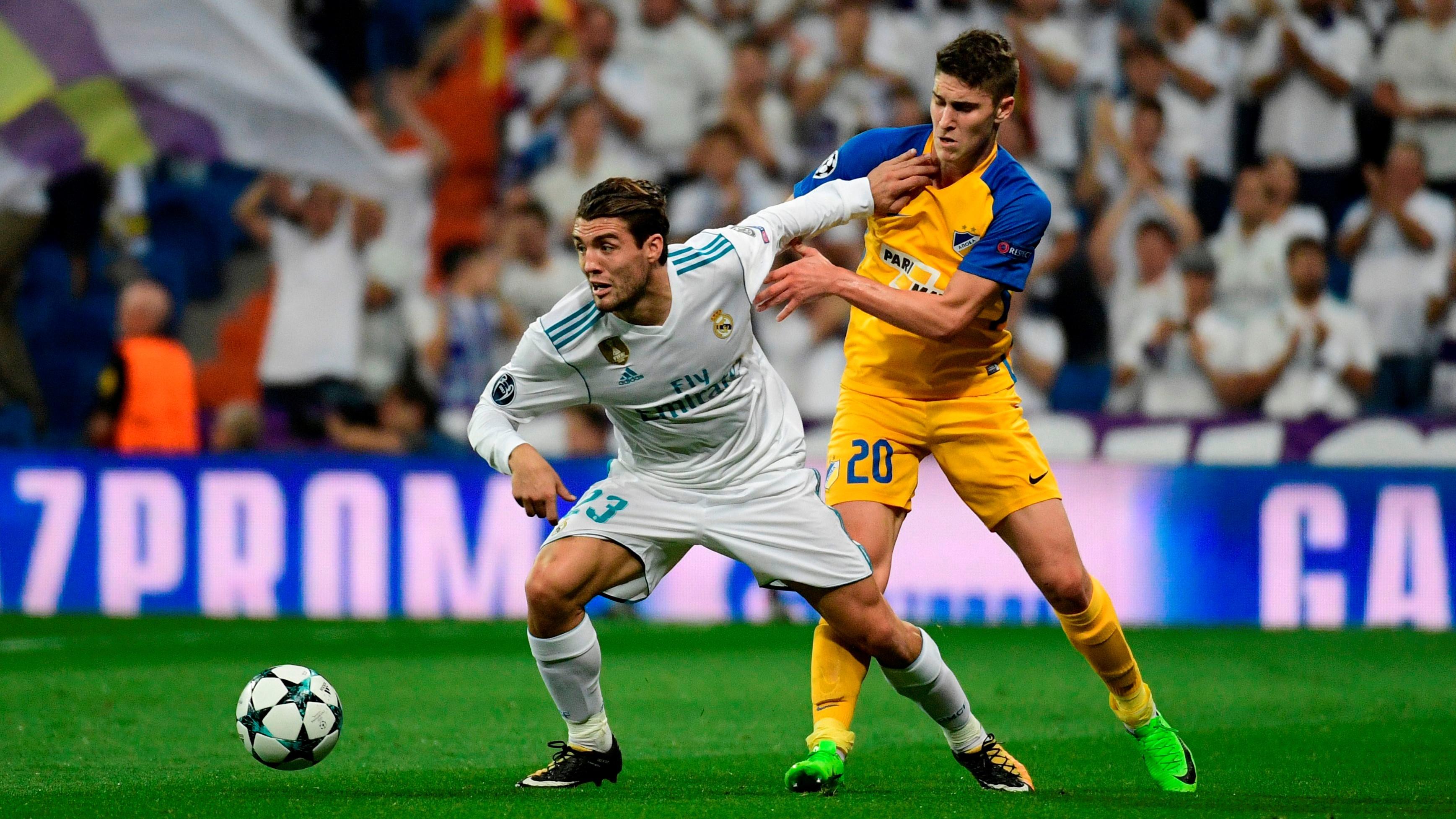Mateo Kovacic Roland Sallai Real Madrid APOEL Champions League 13092017
