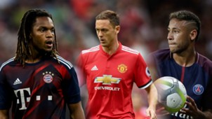 Renato Sanches, Nemanja Matic, Neymar