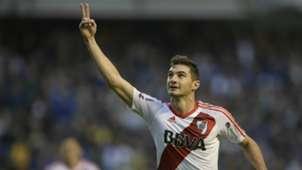 Lucas Alario Boca Juniors River Plate Primera Division Argentina 14052017