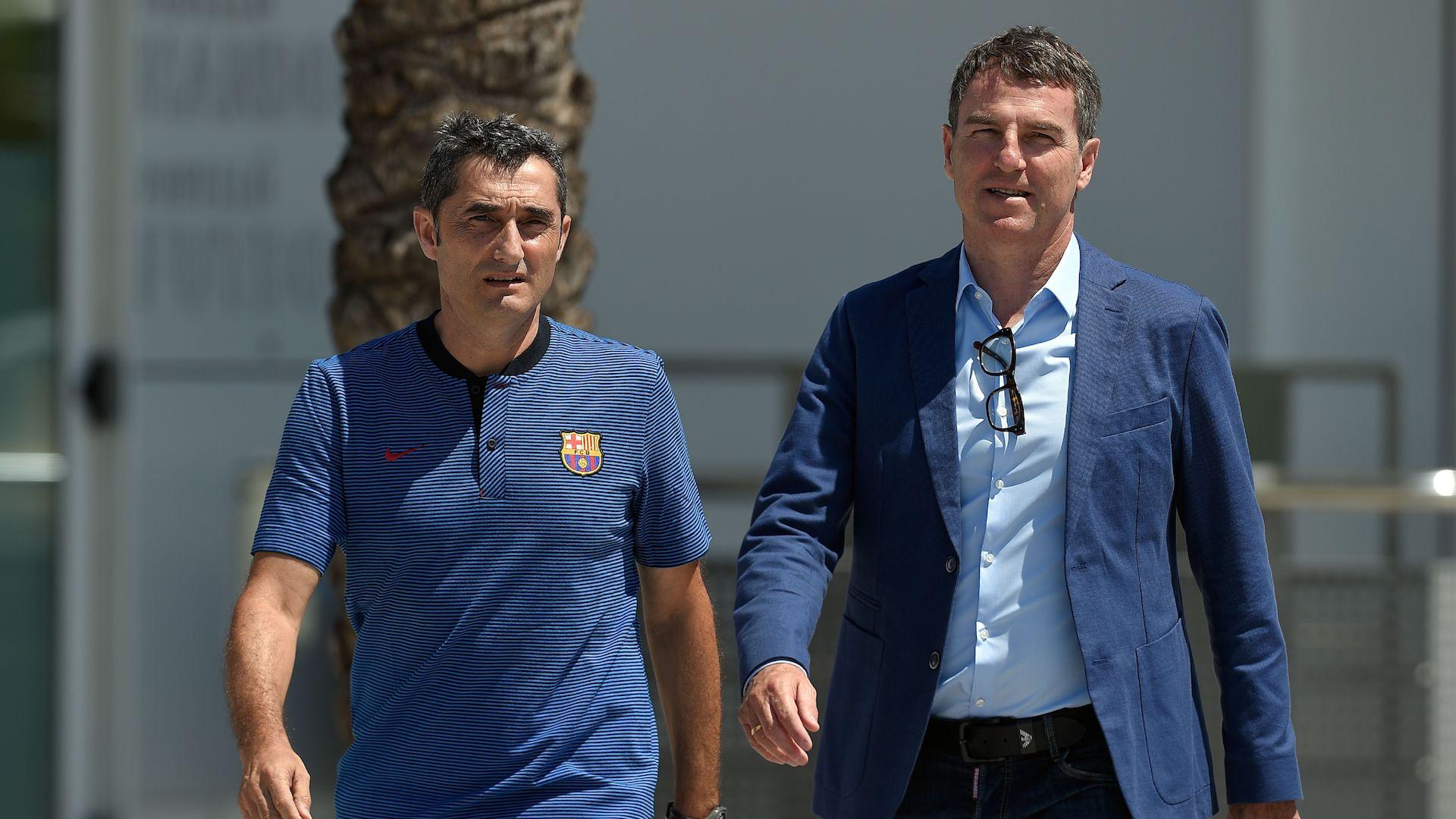 Ernesto Valverde Robert Fernandez Barcelona